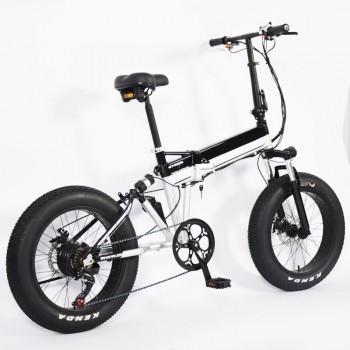 Электровелосипед GreenCamel Фродо (R20FAT 500W 48V10Ah) 7скор, 2х-подвес