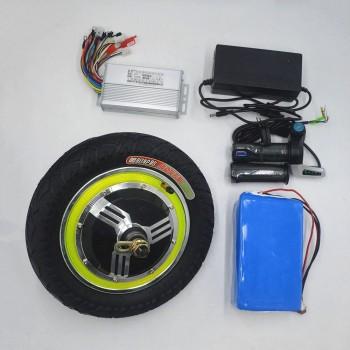 Набор для самоката: мотор-колесо 10 дюймов, ручка газа и контроллер 48V