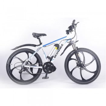 Электровелосипед Ecoffect Rush Белый