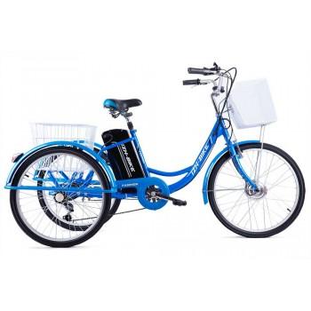 Электрический трехколесный велосипед для взрослых IZH-BIKE Farmer (Фермер) Li-Ion