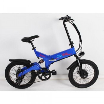 Электровелосипед Oxyvolt Fighter Double 2 Синий