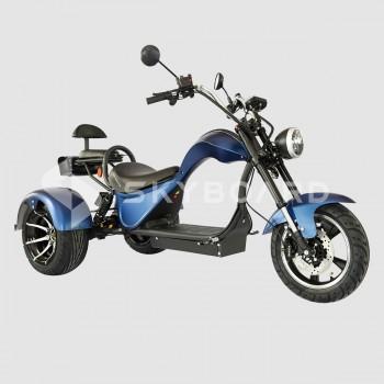 Электроскутер CityCoco SKYBOARD Trike Chopper-2000 Синий