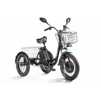 Трицикл Eltreco Porter Fat 700 Черный