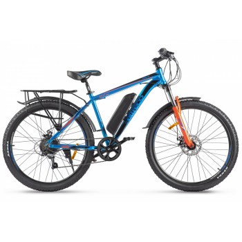 Электровелосипед Eltreco XT-800 NEW Сине-оранжевый