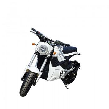 Электромотоцикл GreenCamel Бренди 20 (72V 2000W R12) Белый