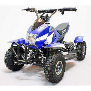 Квадроцикл GreenCamel Гоби K12 (24V 350W R4 Цепной привод) Сине-белый