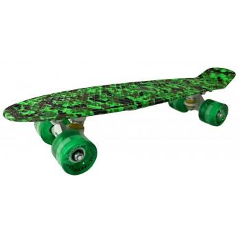 Пенни Борд с рисунком Zippy skateboards Ultra Led Камуфляж